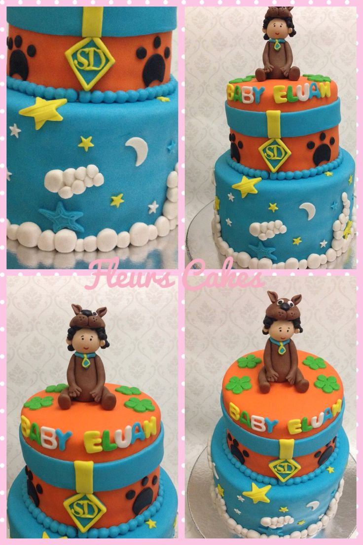 Scooby doo theme for a baby shower