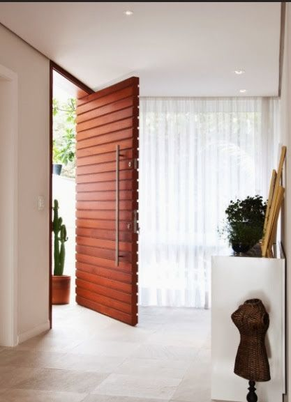 1000 ideas about puertas principales modernas on for Puertas de entrada de casas modernas