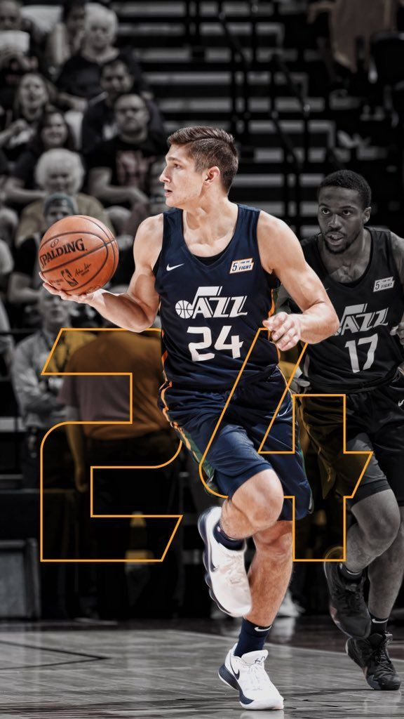 Grayson Allen Nba Rookie Utah Jazz Duke Probasketball Utah Jazz Grayson Allen Utah Jazz Basketball