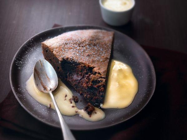 Zachte taart met pure chocolade - Libelle Lekker!