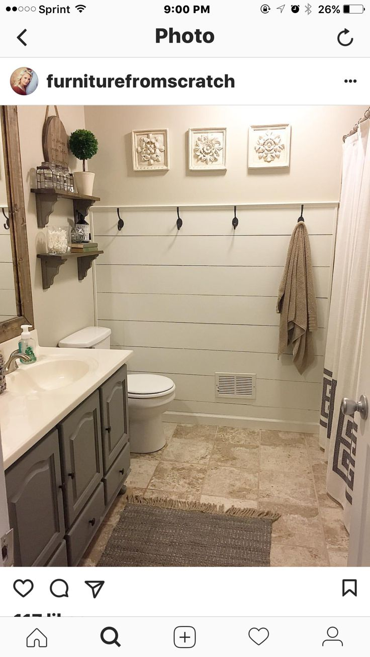 Pin by Chals on Bathroom in 2020 | Modern farmhouse ...