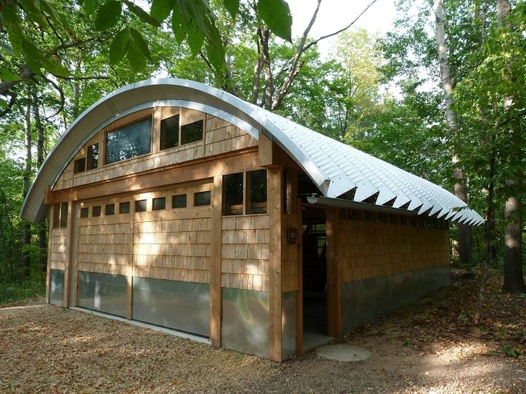 Steel Arched Roof Curved And Clear Span Roof
