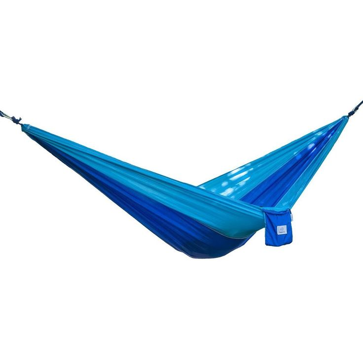 Outdoor Swing Hammock Parachute Nylon Fabric Portable Bed Travel Beach NEW #1