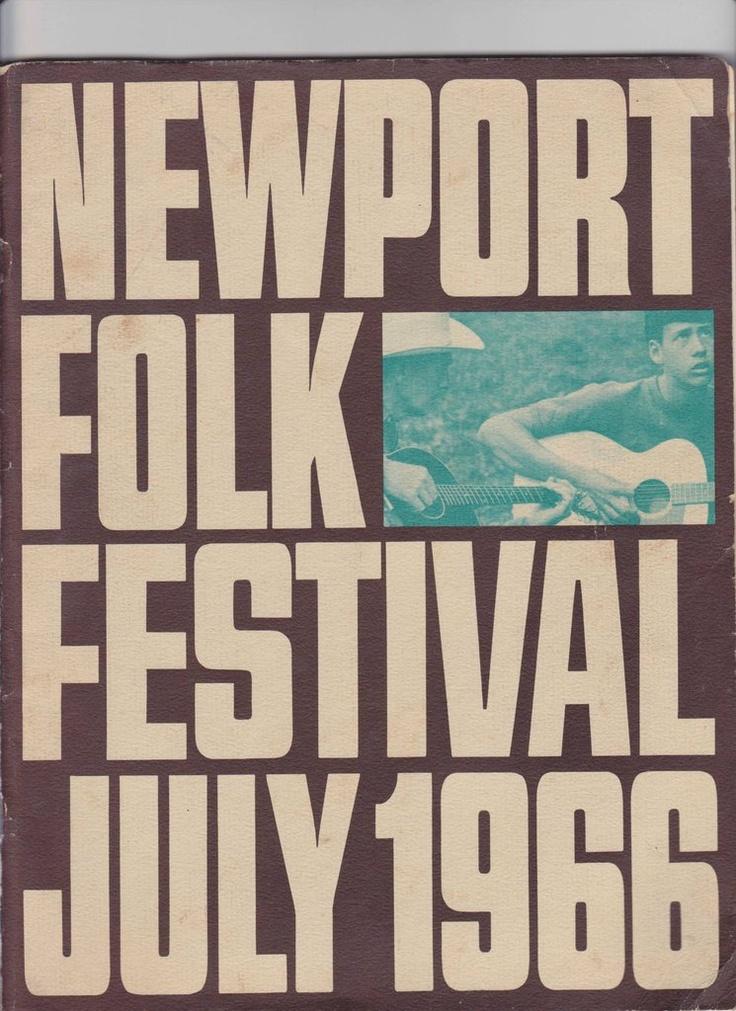 Newport Folk Festival program booklet, 1966