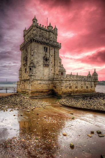 Belém Tower, parish of Santa Maria de Belém, Lisbon, Portugal.