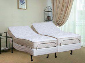 queen size 6inch genesis latex mattress leggett u0026 platt scape adjustable bed - Adjustable Beds King Size