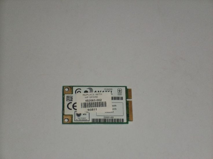 HP Pavilion DV2000 Series Wireless WiFi Card 452063-002