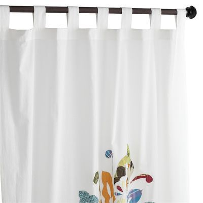 Patchwork Bloom Panel   PIER 1. Curtains For BedroomDiy CurtainsShower ...