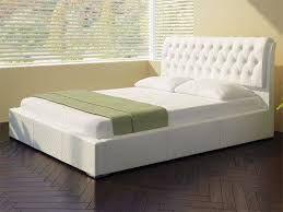 Картинки по запросу светлая кровать с мягким изголовьем
