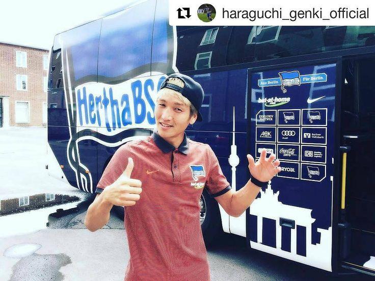 #Repost @haraguchi_genki_official  It will start a long season. I will try my best this match for europe league. 長い戦いがはじまります ヨーロッパリーグ本戦にでるためにも今日のプレイオフがんばります #haraguchi #genki #hahohe #hertha #24 #europaleague