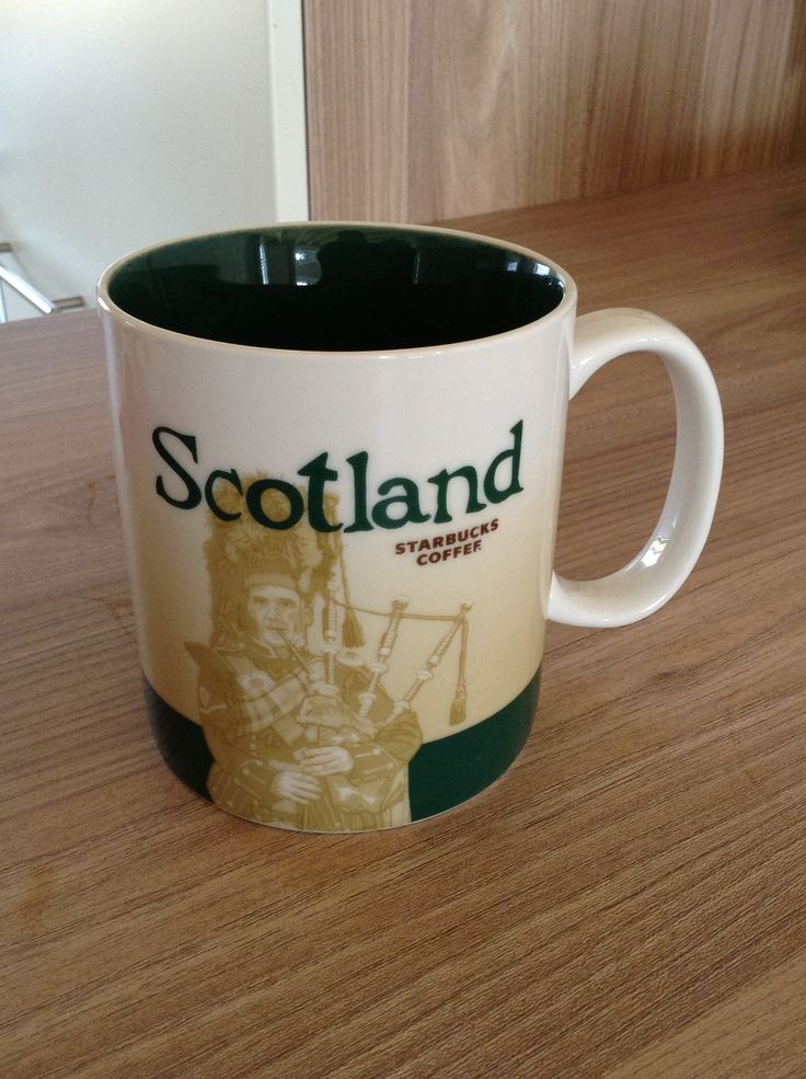 Scotland Starbucks City Mug