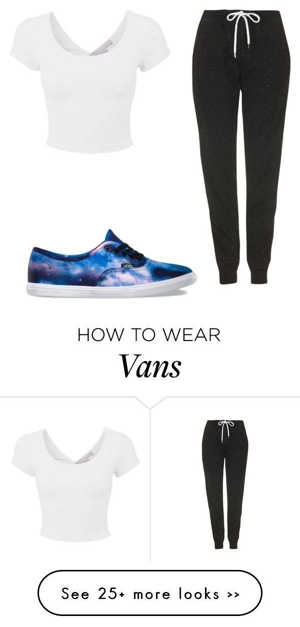 """Untitled #82"" by ashleighhuntley on Polyvore featuring Vans and Topshop"