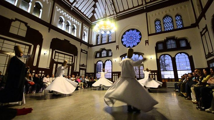 Istanbul Life Organisation Whirling Dervish Ceremony in Istanbul Turkey Turchia,Sufi Music Concert & Whirling Dervish Ceremony Sirkeci Train Station Hall – Istanbul