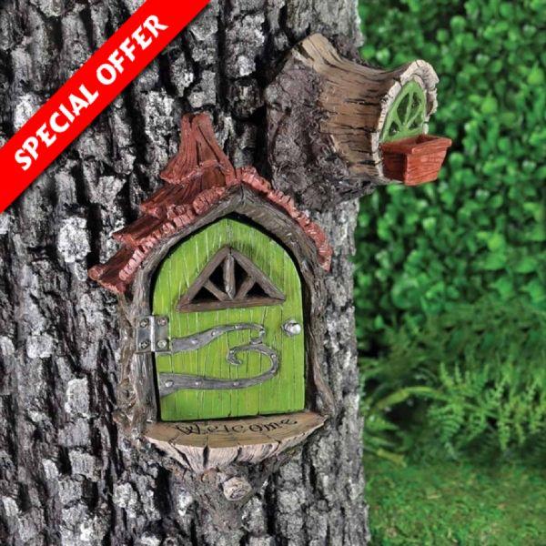 Fairy Landing Pad Set (Fiddlehead) - Houses
