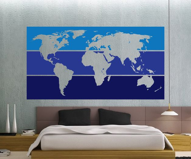 206 best travelling images on pinterest travelling laptop wall stickers world map decal a unique product by denitza 1 via en gumiabroncs Images