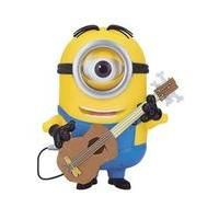 Minions Talking Minion Stuart Action Figure With Guitar Was £39.99 Now £30.99