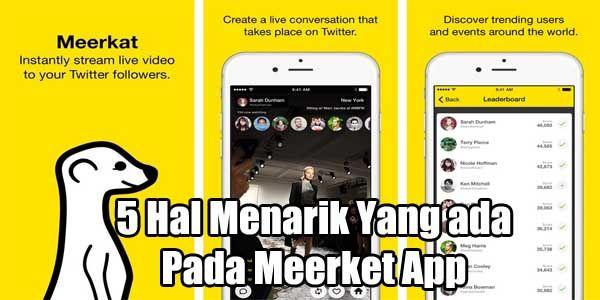5 Hal Menarik Tentang Aplikasi Meerket, Bisa Live Streaming! http://goo.gl/bmrt9t