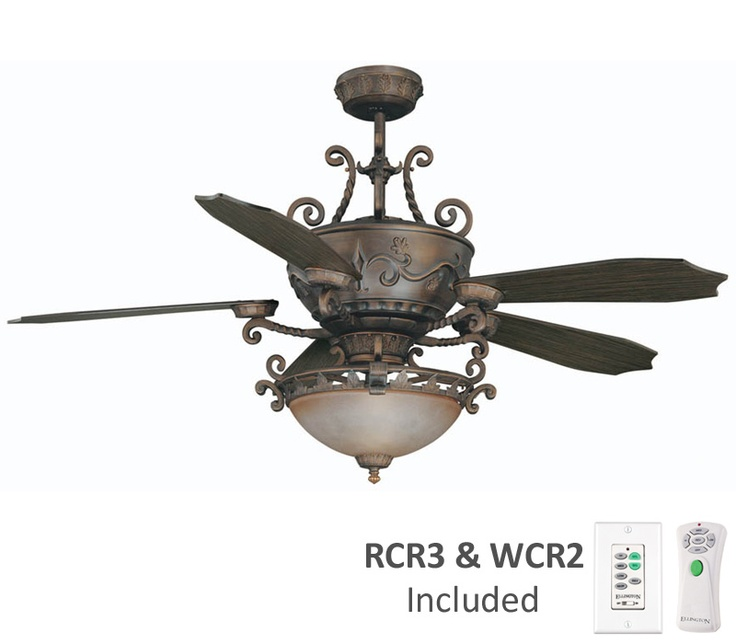ellington bar56ams5cwr barcelona ceiling fan