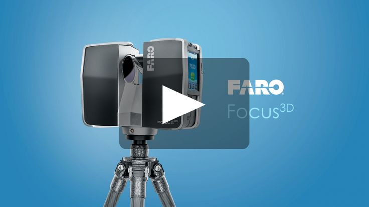Laser Scanner FARO Focus3D - Features - 3D Surveying