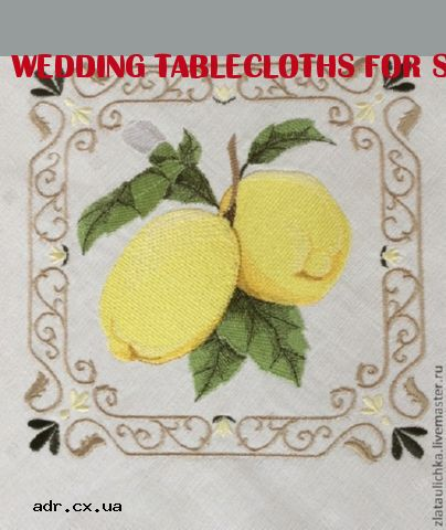 wedding tablecloths for sale