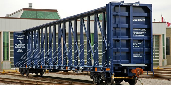 15 Best Rail Cars Images On Pinterest Rail Car Train And Trailers