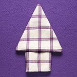 4 Easy Napkin Folds