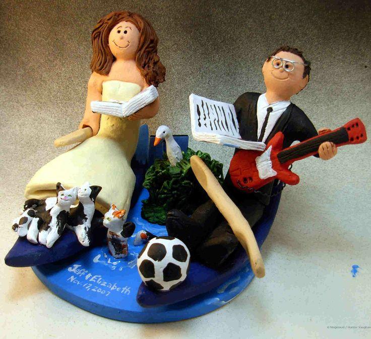 Wedding Cake Topper for a Kayaking Couple.jpg http://www.magicmud.com   1 800 231 9814  magicmud@magicmud.com  $235   https://twitter.com/caketoppers         https://www.facebook.com/PersonalizedWeddingCakeToppers   #wedding #cake #toppers #custom #personalized #Groom #bride #anniversary #birthday#weddingcaketoppers#cake-toppers#figurine#gift#wedding-cake-toppers  #soccer#soccerPlayer#soccerBride#FIFA#football