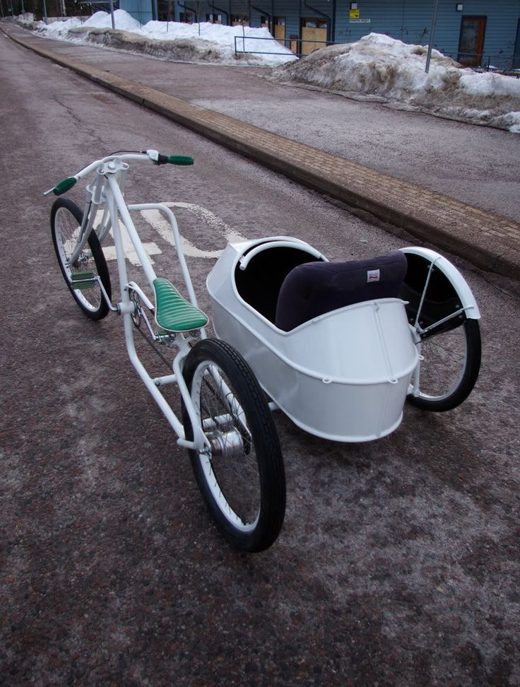 Amazing Cool Bicycles - Bike with side car