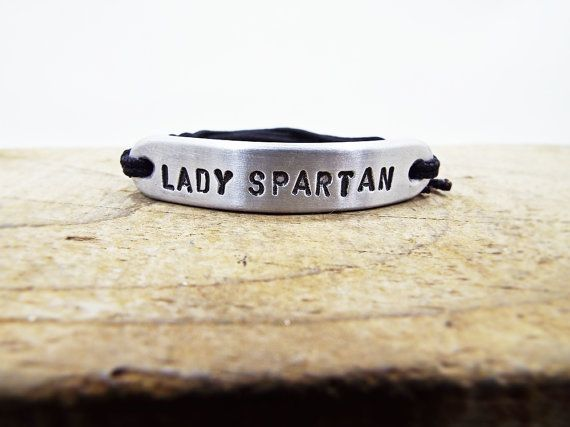 Lady Spartan armband voor vrouwen aluminium door Aluminiopassions