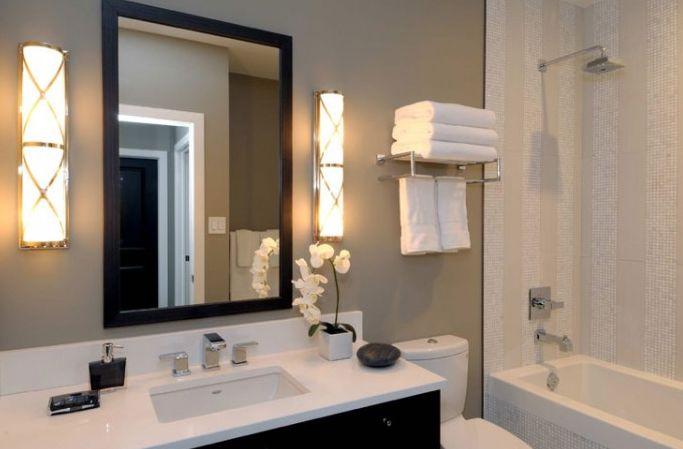 natural gray bathroom