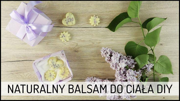 Naturalny Balsam do Ciała DIY | prezent na Dzień Matki Domodi TV #giftbox #balsam #balm #DIY #cosmetics #naturalcosmetics #lilac #gift #mothersday