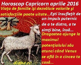 diane.ro: Horoscop Capricorn aprilie 2016