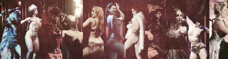 Burlesque Pin Up Collage