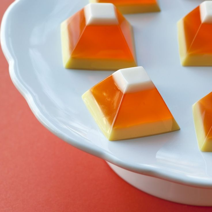 Candy Corn Jello: Holiday, Jello Shots, Non Alcoholic, Food, Candy Corn, Candycorn, Corn Jello, Halloween