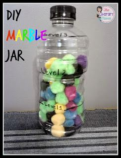 DIY Marble Jars For Building Positive Classroom Community