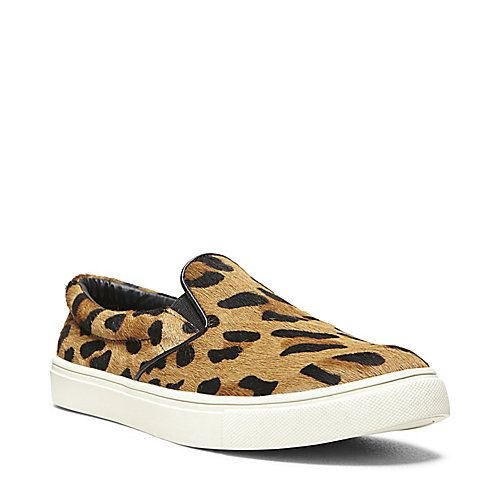 ECENTRIC LEOPARD women's athletic fashion slip on - Steve Madden $99.95 (SMFREE50 for free ship)
