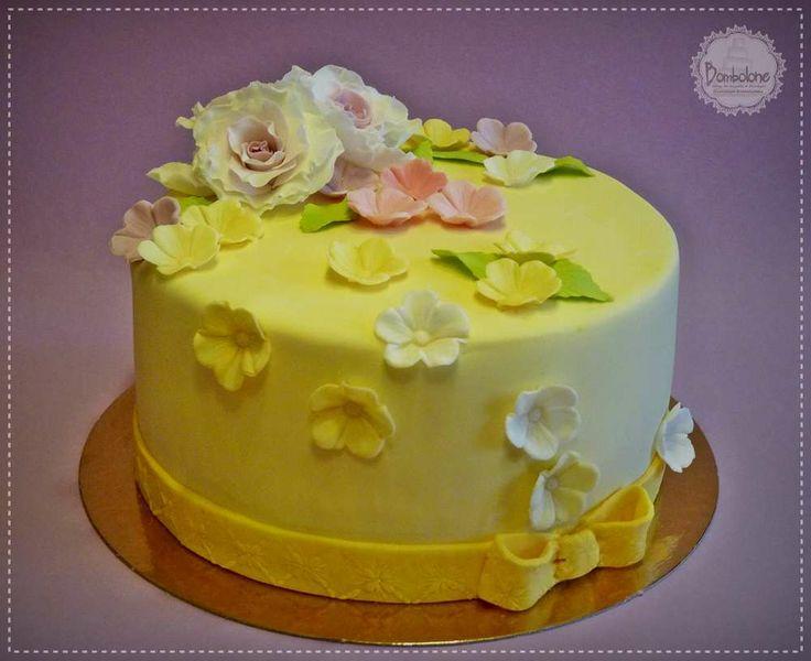 Virágos torta 4.