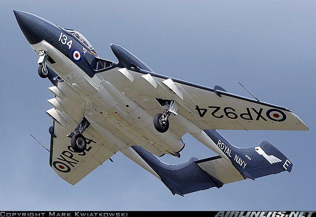 De Havilland DH-110 Sea Vixen.