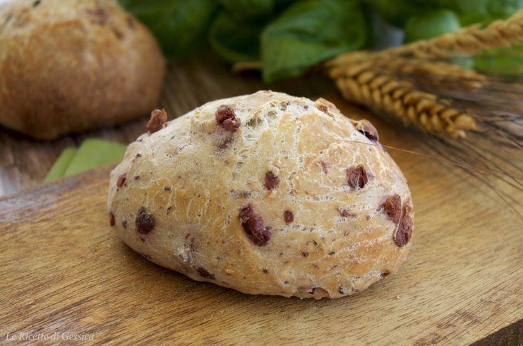 panini croccanti veloci alle olive bimby