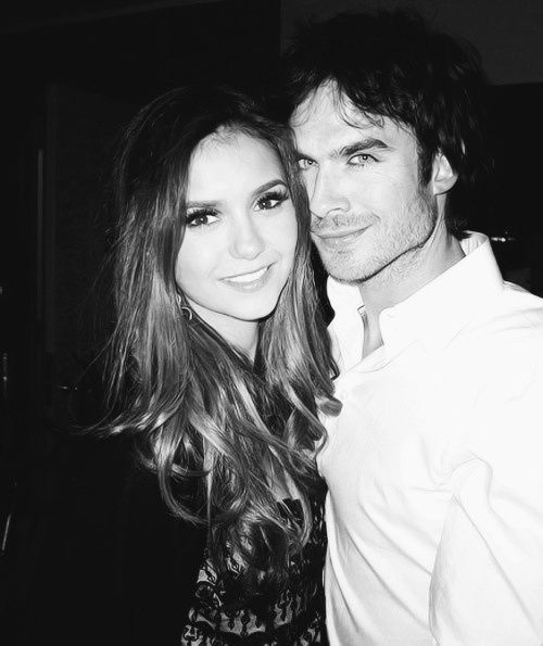 nina dobrev & ian somerhalder. together they pretty much rock my world.