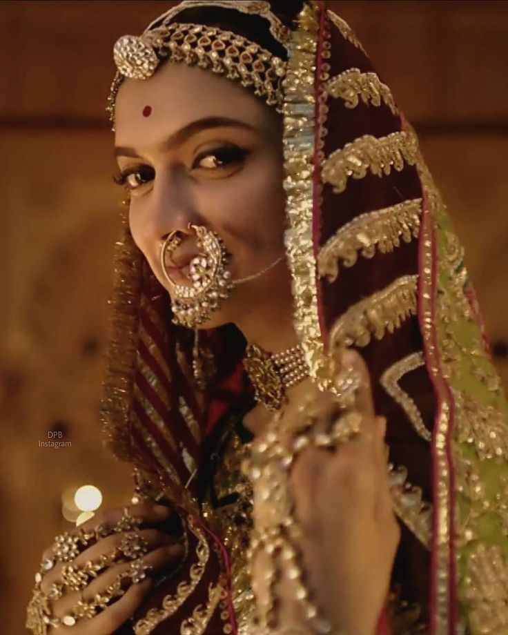 "10.8k Likes, 49 Comments - ♡ THE QUEEN OF HEARTS ♡ (@deepikapadukonebeautiful) on Instagram: ""#DPBPadmavati I can't get over Rani Padmavati beauty MASHALLAH!!!✨"""