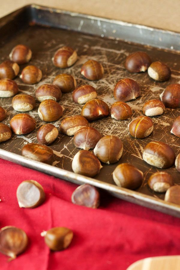 Roasted Chestnuts | Appetizers | Pinterest