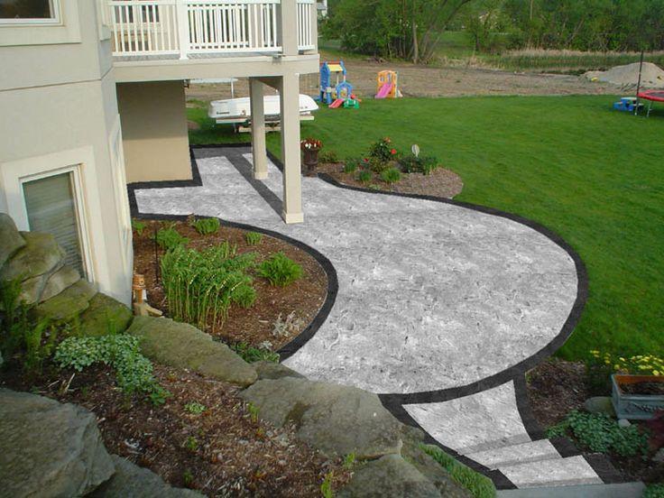 Backyard Patio  Patiobackyard1jpg  Beautiful back yards  Pinter