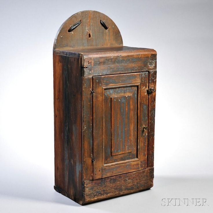 Pine Hanging Wall Cupboard, possibly New England, 18th/19th century