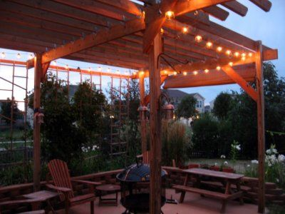 21 best images about backyard pergola on pinterest reading room solar and outdoor rooms - How to build a pergola over a concrete patio ...