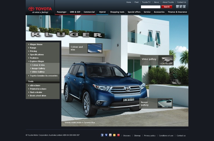 Toyota Kluger - http://ronaldjusuf.wordpress.com/2013/02/22/toyota-kluger/