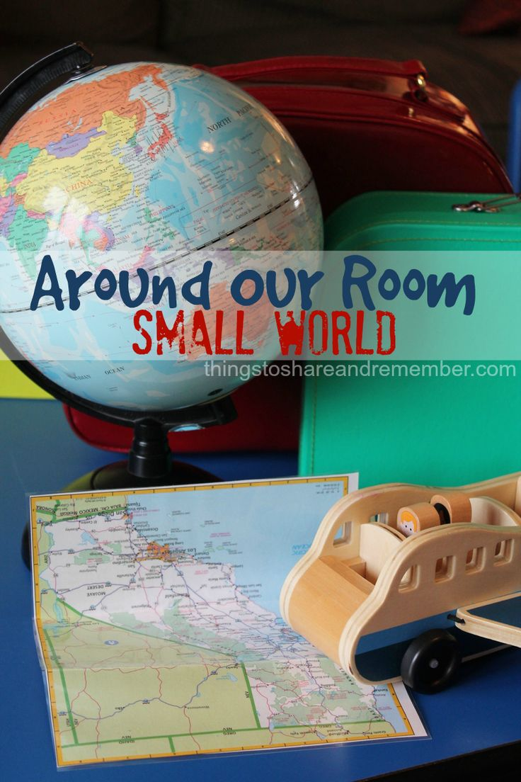 Around our Room Small World Preschool Theme