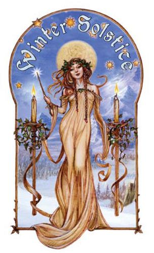The Midwinter Solstice, aka 'Yule'. The longest night of the year.