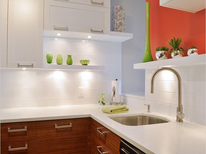 C ramique d cor outremont salle de lavage buanderie - Hotte de cuisine stainless ...