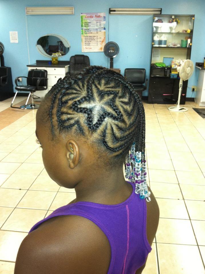 criss-cross braids